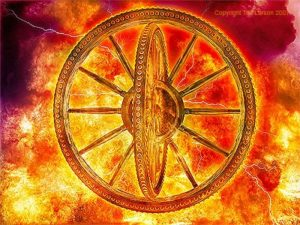 Ezekiel's wheels